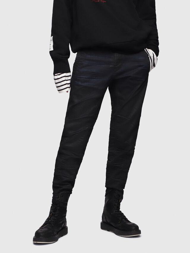 Diesel - D-Earby JoggJeans 0688U, Black/Dark grey - Jeans - Image 1