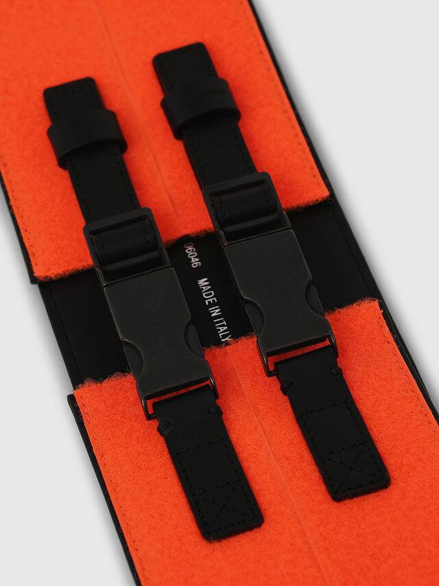 Diesel - B-USTINO, Orange/Black - Belts - Image 2