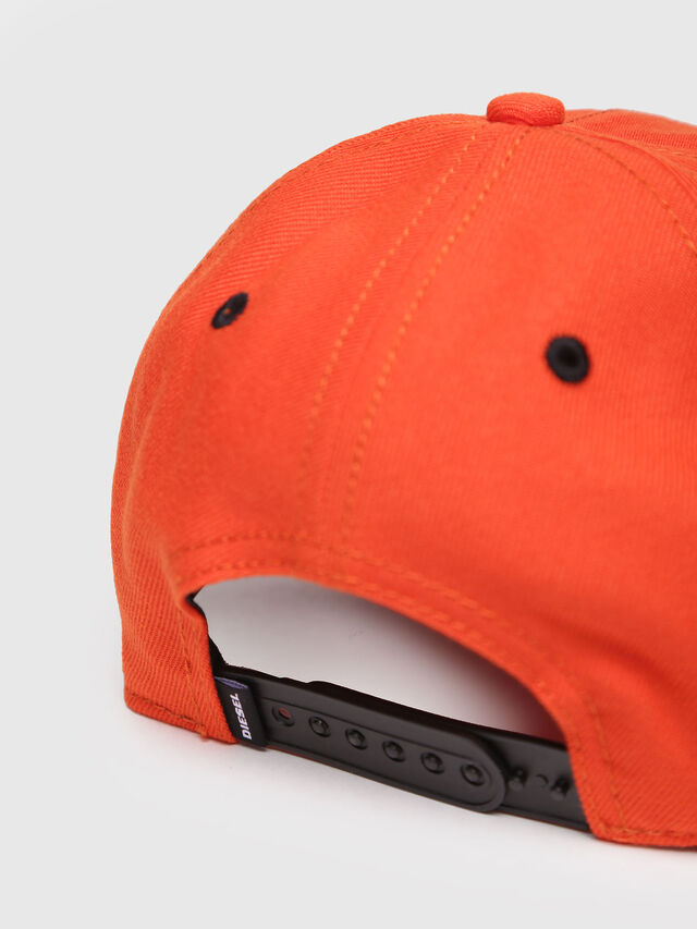 Diesel - CAKERYM-MAX, Orange - Caps, Hats and Gloves - Image 3