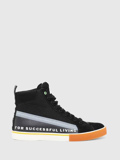 Diesel - S-DVELOWS MID, Black - Sneakers - Image 1