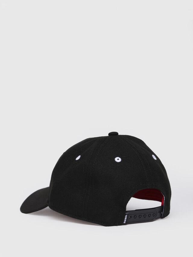 Diesel - CAKERYM-MAX, Black - Caps, Hats and Gloves - Image 2