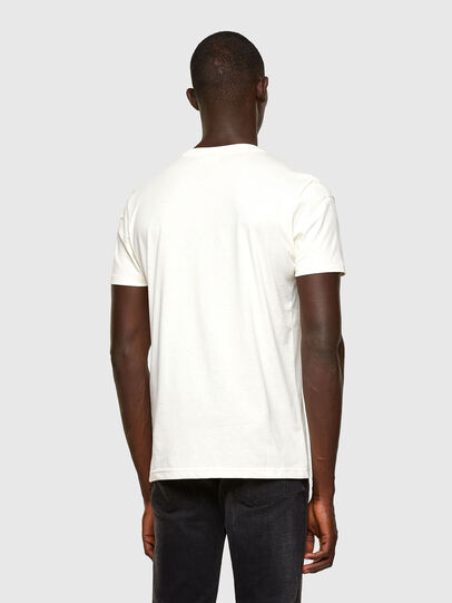 Diesel - T-DORYMO-A1, White - T-Shirts - Image 2