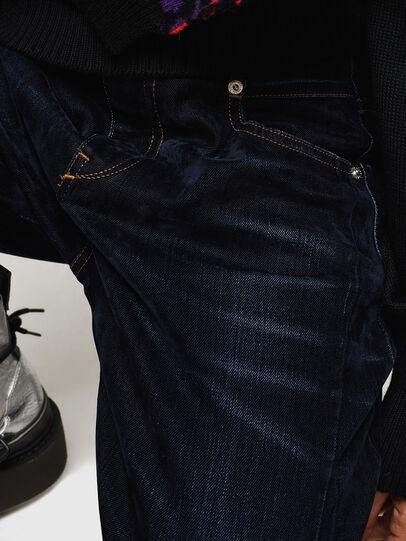 Diesel - Fayza 0091U, Dark Blue - Jeans - Image 5