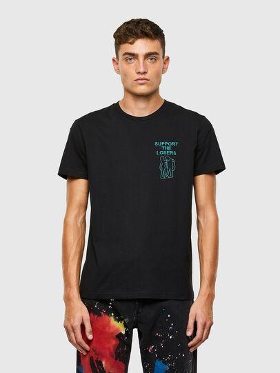 Diesel - T-DORYMO-A1, Black - T-Shirts - Image 1