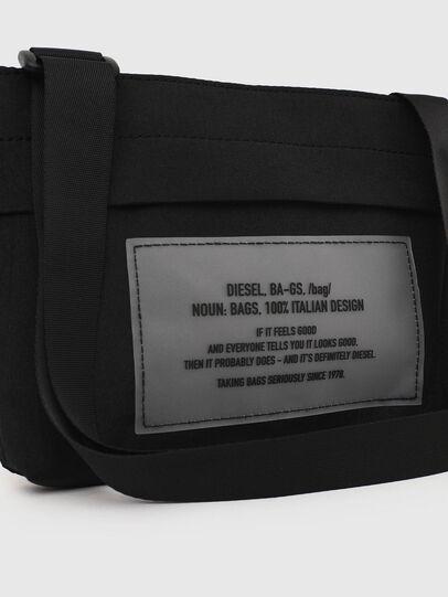 Diesel - CROPAK, Black - Crossbody Bags - Image 5