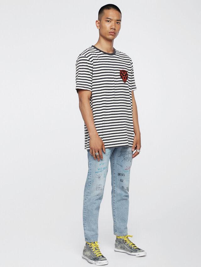 Diesel - EXPOSURE I, Grey Jeans - Sneakers - Image 5