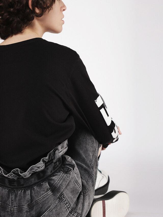 Diesel - Kalley JoggJeans 069AU, Black/Dark grey - Jeans - Image 6