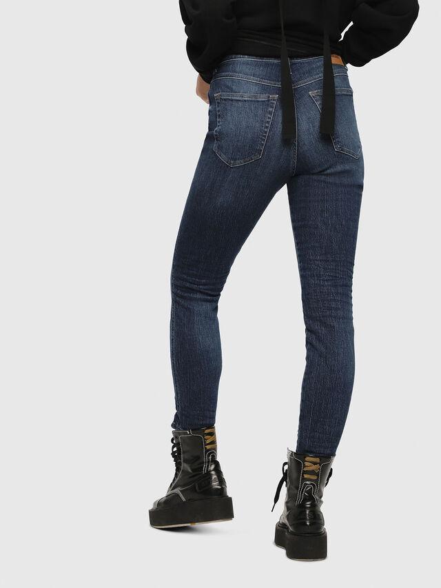 Diesel - Babhila High 089AH, Medium blue - Jeans - Image 2