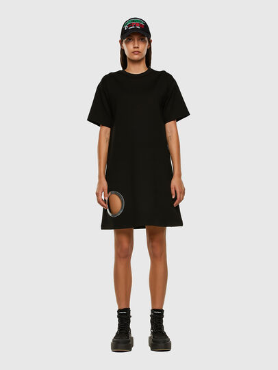 Diesel - D-EYESIE, Black - Dresses - Image 6