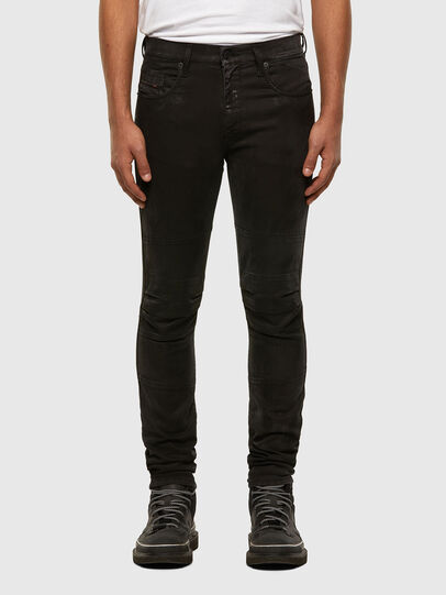 Diesel - D-Strukt JoggJeans 009GH, Black/Dark grey - Jeans - Image 1