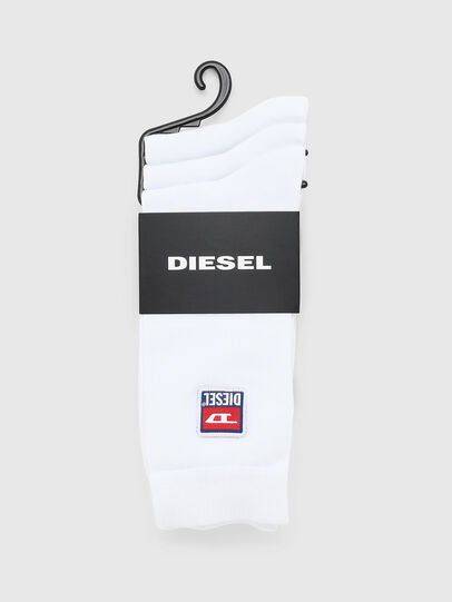 Diesel - SKM-RAY-THREEPACK, White - Socks - Image 2