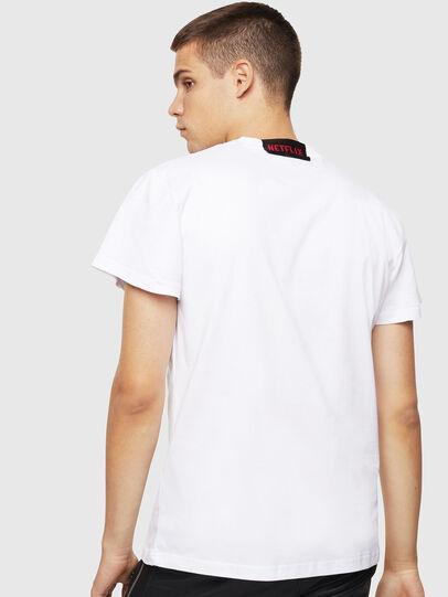 Diesel - LCP-T-DIEGO-DENVER, White - T-Shirts - Image 3