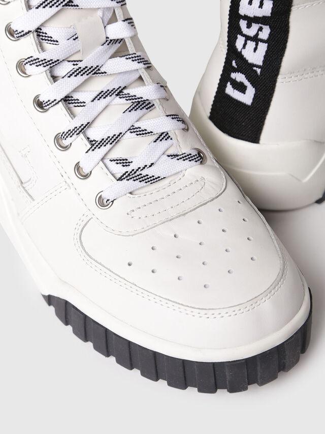Diesel - S-RUA MC W, White - Sneakers - Image 4