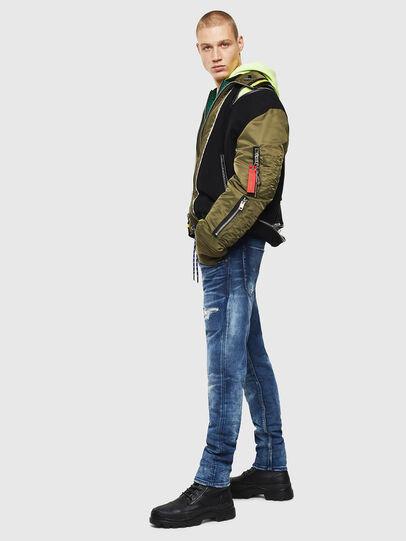 Diesel - Krooley JoggJeans 0097N, Dark Blue - Jeans - Image 6