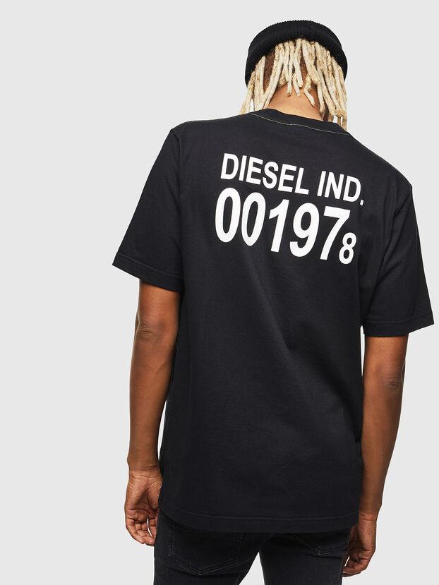 T-JUST-VINT, Black - T-Shirts