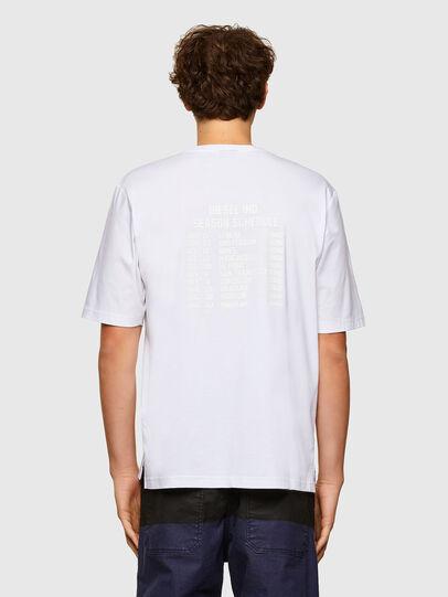 Diesel - T-GORAN-A1, White - T-Shirts - Image 2