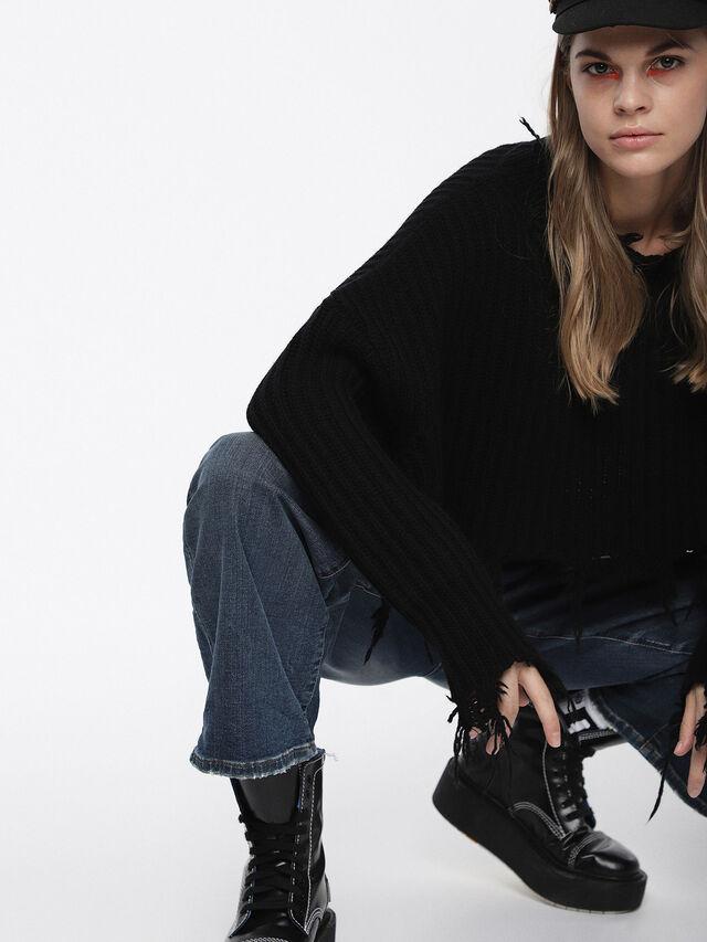 Diesel - Widee JoggJeans 084YP, Medium blue - Jeans - Image 3
