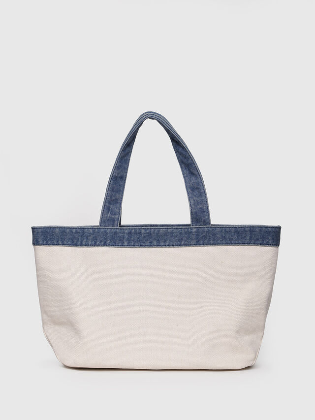 Diesel - F-MHICO SHOPPER M, Cream - Shopping and Shoulder Bags - Image 2