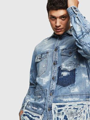 D-HISAKY-SY, Blue Jeans - Denim Shirts