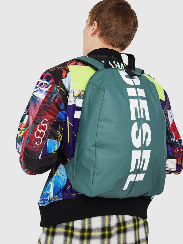 Diesel - F-BOLD BACK, Green/Grey - Backpacks - Image 6