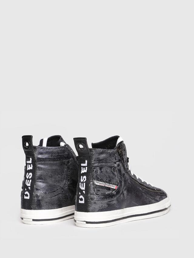 Diesel - EXPO-ZIP W, Black Jeans - Sneakers - Image 3
