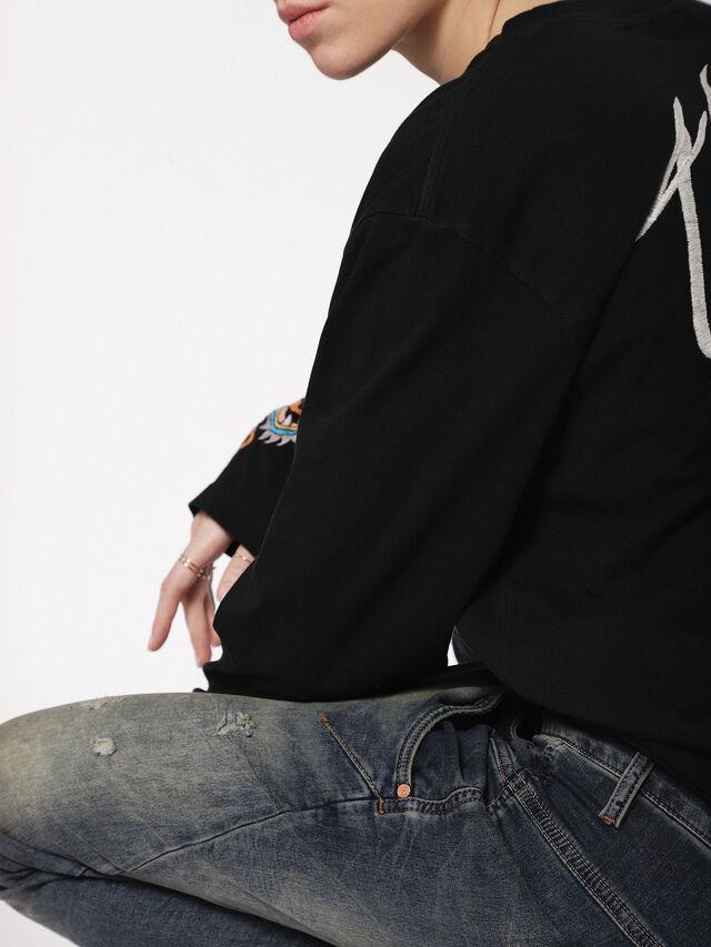 Diesel - Fayza JoggJeans 0699V, Dark Blue - Jeans - Image 5