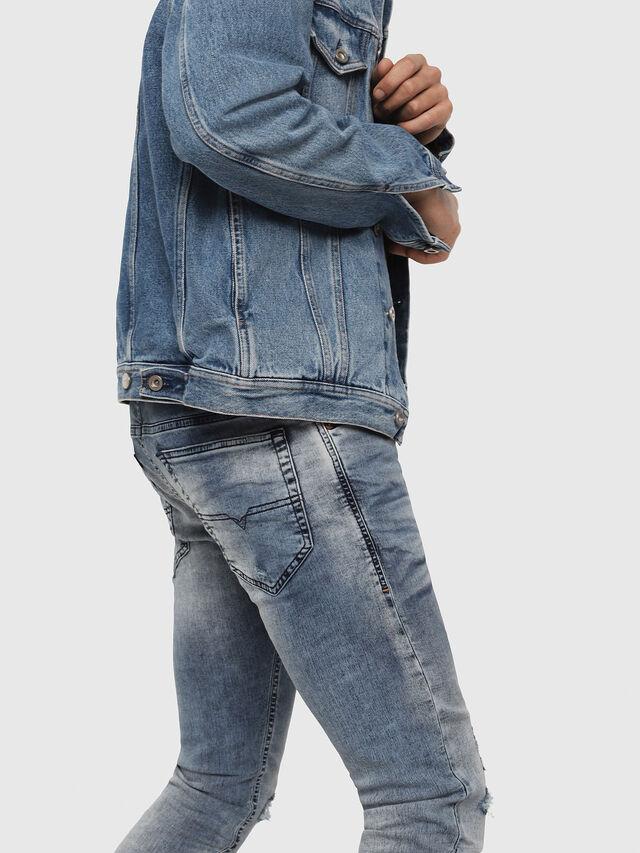 Diesel - Thommer JoggJeans 069FC, Light Blue - Jeans - Image 4