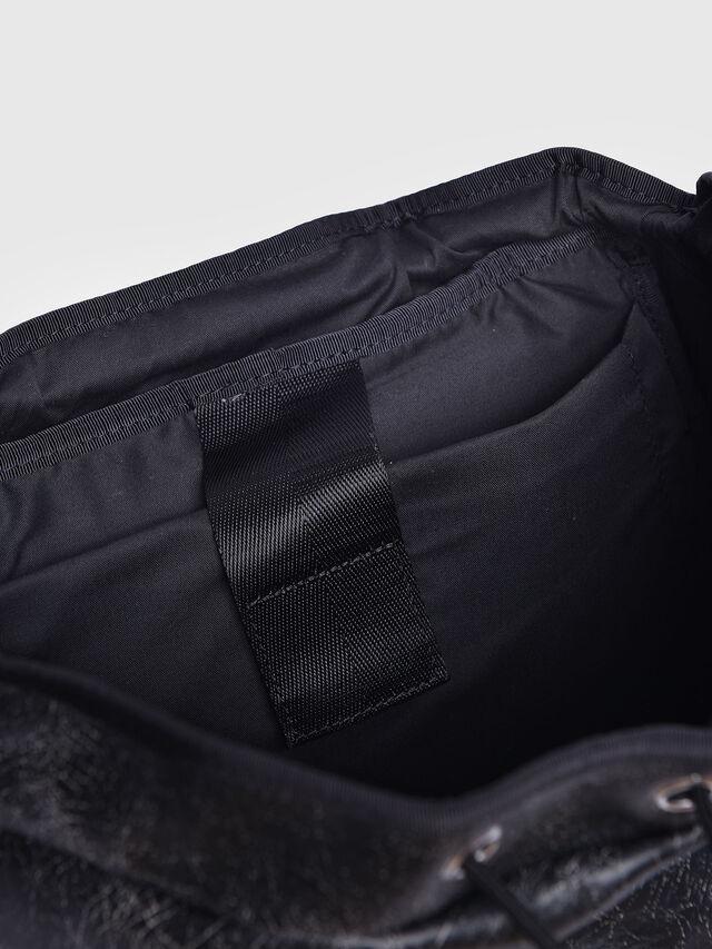 Diesel - L-BLAID RANNER BACK, Black Leather - Backpacks - Image 3