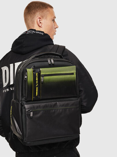 "Diesel - ""KB1*19001 - OPENROA, Black/Yellow - Backpacks - Image 8"