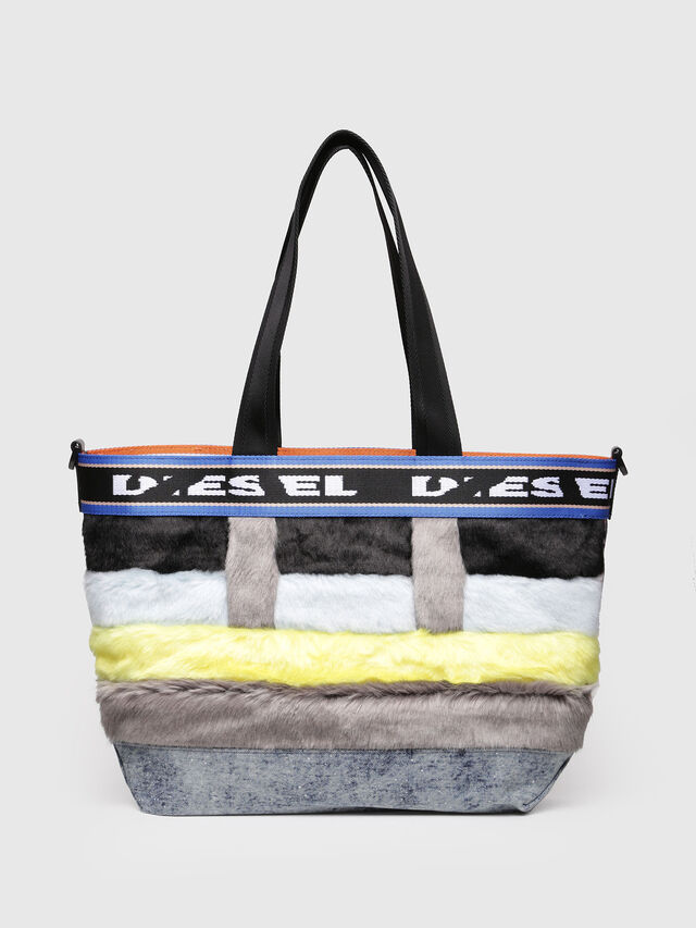 Diesel - ARAJUKU SHOPPER M, Multicolor - Shopping and Shoulder Bags - Image 1