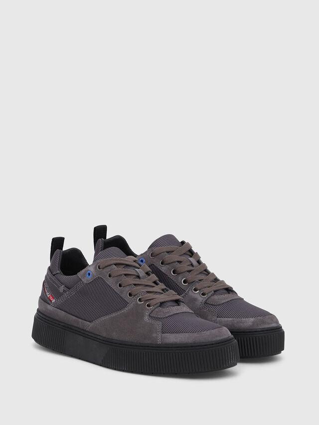 Diesel - S-DANNY LC II, Blue/Grey - Sneakers - Image 2