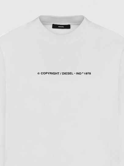Diesel - S-BIAY-COPY, White - Sweaters - Image 3