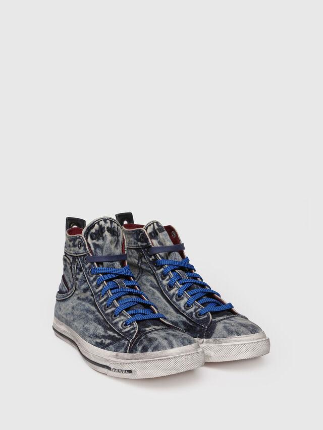 Diesel - EXPOSURE STRIPE, Blue Jeans - Sneakers - Image 3