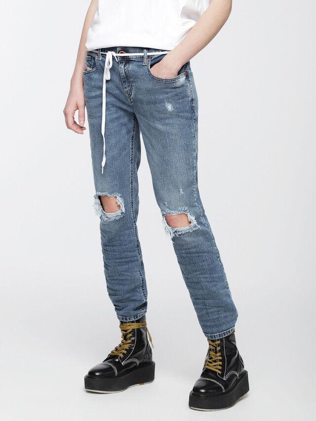 Diesel - Belthy 084UV, Light Blue - Jeans - Image 1