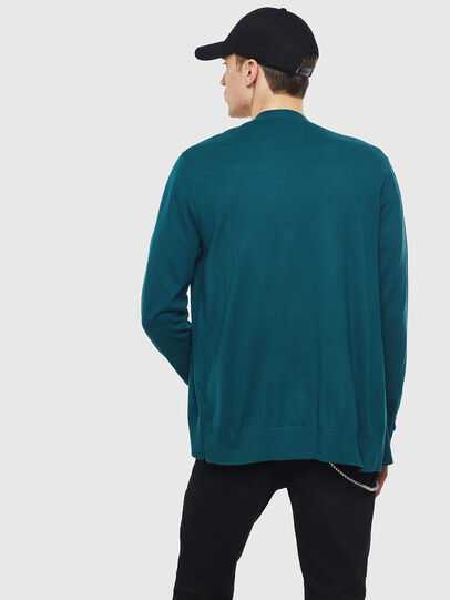 Diesel - K-TRASS, Dark Green - Knitwear - Image 2