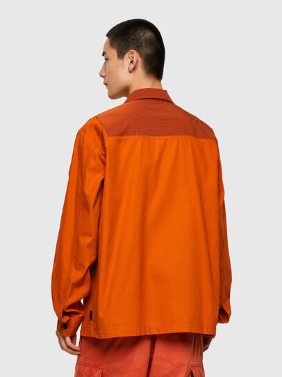 Diesel - S-GUNN-LS, Orange - Shirts - Image 2