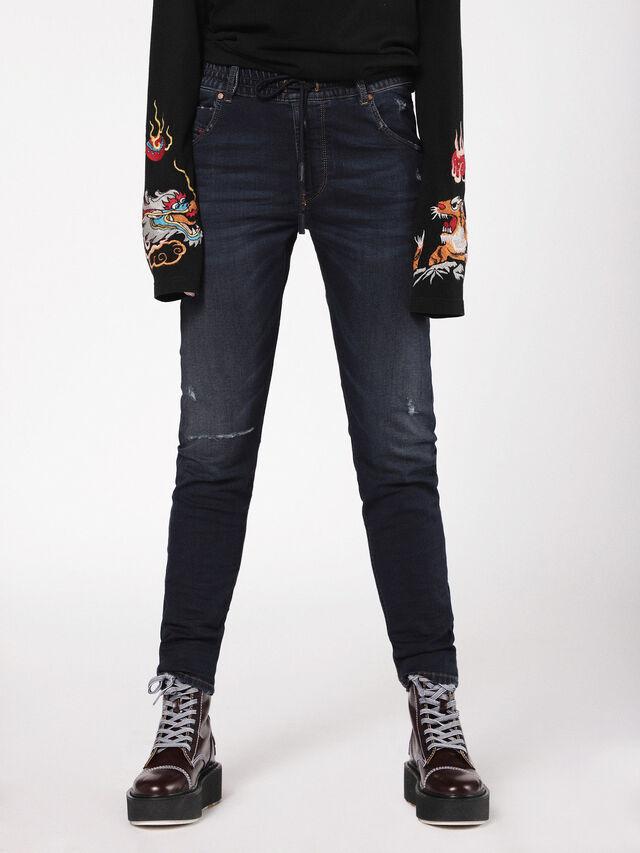 Diesel - Krailey JoggJeans 0699W, Dark Blue - Jeans - Image 2