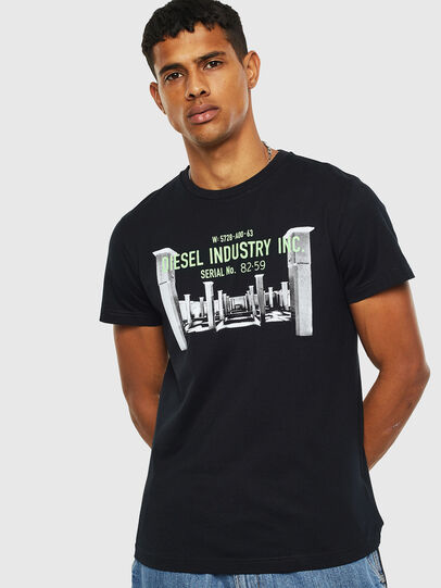 Diesel - T-DIEGO-S13, Black - T-Shirts - Image 1