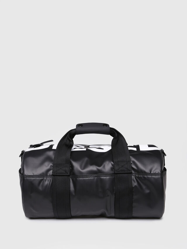 Diesel - F-BOLD DUFFLE FL, Bright Black - Travel Bags - Image 1