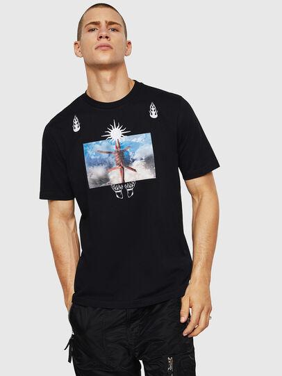 Diesel - T-JUST-B28, Black - T-Shirts - Image 1