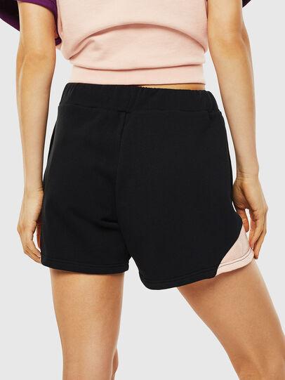 Diesel - UFLB-SKIRZY, Black/Pink - Pants - Image 2