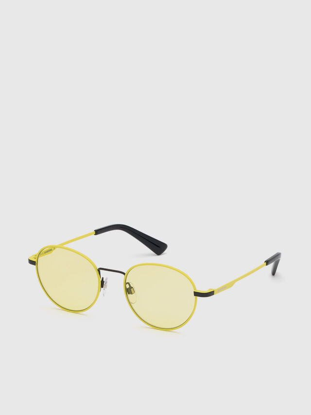 Diesel - DL0290, Yellow - Eyewear - Image 2