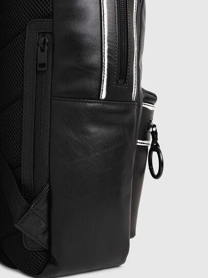 Diesel - ESTE, Black/White - Backpacks - Image 4
