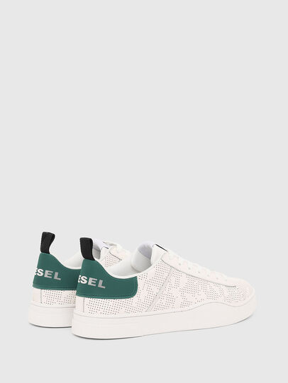 Diesel - S-CLEVER LOW LACE, White - Sneakers - Image 3