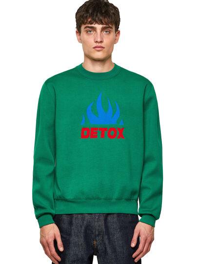 Diesel - K-TEXAS, Dark Green - Knitwear - Image 1