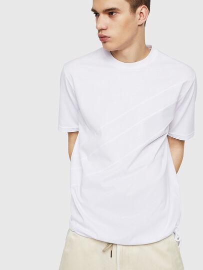 Diesel - T-ALEKSEY, White - T-Shirts - Image 4