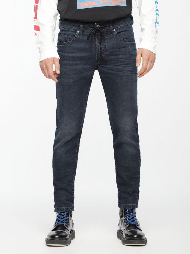 Diesel - Thommer JoggJeans 069AG, Dark Blue - Jeans - Image 1
