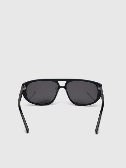 Diesel - DL0300, Black - Sunglasses - Image 4