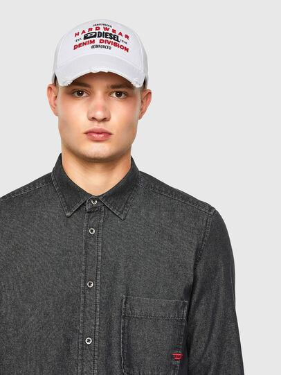 Diesel - D-BILLY, Black - Denim Shirts - Image 3
