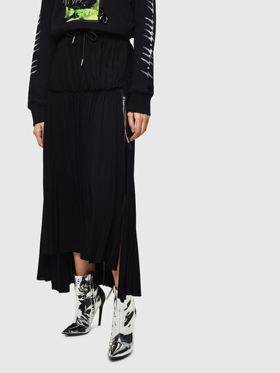Diesel - O-FRIDA, Black - Skirts - Image 1